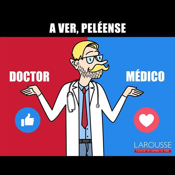 Makken - Larousse Médico vs Doctor