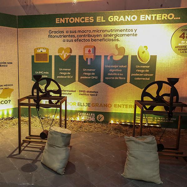 Nestlé, la tierra del grano