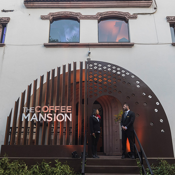 the coffee mansion